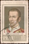 Stamps Peru -  Precursores de la Independencia: José de la Riva Agüero 1783-1858