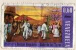 Sellos del Mundo : America : Venezuela : Danzas populares baile de las turas