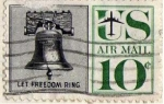 Stamps United States -  let freedom ring