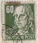 Stamps Germany -  G.W.PR. HEGEL