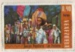 Stamps Venezuela -  Danzas populares- los pastores