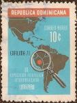 Stamps Dominican Republic -  III Exposición Filatélica Interamericana Lima-Perú EXFILIMA '71