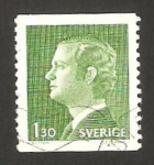 Stamps : Europe : Sweden :  Rey Charles XVI Gustave