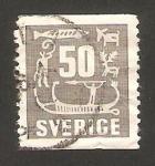 Stamps : Europe : Sweden :  grabados rupestres en la provincia de bohuslan