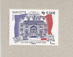 Stamps Mayotte -  100 Aniv.Tribunal de cuentas