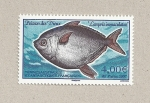 Stamps Europe - French Southern and Antarctic Lands -  Pez de los dioses