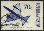 Stamps Argentina -  Correo aéreo. Emisión para correspondencia aérea y común.