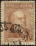 Stamps Argentina -  Domingo Faustino Sarmiento. 1811 – 1888. Militar, político, docente, escritor, periodista. President