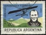 Stamps Argentina -  Jorge Alejandro Newbery. 1875 - 1914. Ingeniero, aviador, deportista. Fue uno de los primeros aviado