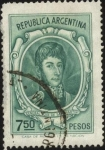 Sellos de America - Argentina -  Libertador General San Mart�n.