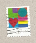 Stamps United States -  Amor