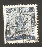 Sellos de Europa - Suecia -  centº del sello