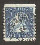Stamps Sweden -  gustave II aldophe