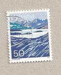 Stamps Switzerland -  Glaciar