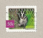 Sellos de Oceania - Australia -  Zarigüeya bandeada