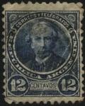 Stamps America - Argentina -  Juan Bautista Alberdi. 1810 - 1884.Jurista, político, economista, escritor y músico argentino. Autor