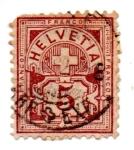 Stamps Europe - Switzerland -  1882-MARQUE de CONTROLE-A-SUIZA