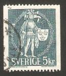 Sellos de Europa - Suecia -  eric IX