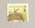 Sellos del Mundo : Africa : Zimbabwe : Liebre