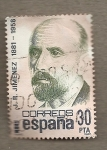 Stamps Spain -  Juan Ramón Jimenez