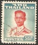 Stamps Thailand -  rey bhumibol adulyadej, Rama IX