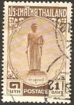 Stamps : Asia : Thailand :  estatua en honor de mo, heroína