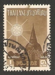 Stamps : Asia : Thailand :  vista de una pagoda