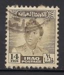Sellos de Asia - Irak -  Rey Faisal II de Irak.