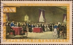 Stamps of the world : Venezuela :  Sesquicentenario de la Declaración de la Independencia, 5 de julio 1811-1961