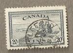 Sellos del Mundo : America : Canadá : Cosechadora