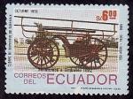 Stamps America - Ecuador -  Cuerpo de bomberos de Guayaquil (150 años)