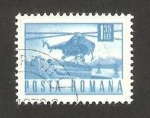 Stamps : Europe : Romania :  helicóptero