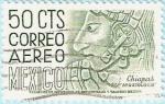 Stamps : America : Mexico :  Chiapas - Arqueología