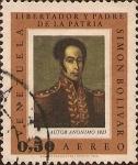 Stamps : America : Venezuela :  Simón Bolívar - Libertador y Padre de la Pátria (Autor Anónimo, 1825).