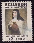 Sellos de America - Ecuador -  Santa Teresa de Jesús