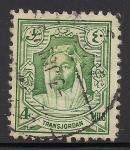 Stamps Jordan -  Rey Abdullah I de Jordania.