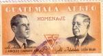 Stamps Guatemala -  Chavarry A. y León Bilak