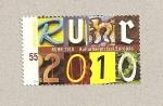 Sellos de Europa - Alemania -  Rhur, capital de la cultura 2010