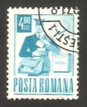 Stamps : Europe : Romania :  cartero