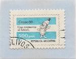 Sellos del Mundo : America : Argentina : Censo 1980