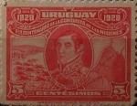 Stamps : America : Uruguay :  General Rivera