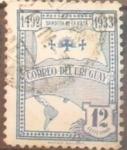 Stamps : America : Uruguay :  Bandera de la raza