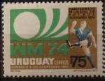 Stamps : America : Uruguay :  Campeonato mundial de futbol Alemania 1974