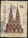 Stamps Argentina -  Basílica Nacional Nuestra Señora de Luján, madre y patrona del Pueblo Argentino.