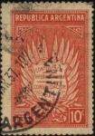 Stamps Argentina -  Conferencia Interamericana de Consolidación de la Paz en Diciembre de 1936 en la ciudad de Buenos Ai