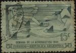 Stamps Argentina -  Emisión de sellos conmemorativos de la Semana de la Aeronáutica en Argentina.