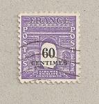 Stamps France -  Arco del Triunfo