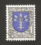 Sellos de Europa - Eslovaquia -  143 - escudo de la ciudad de Dubnica