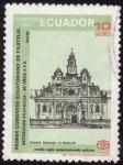Stamps Ecuador -  CATEDRAL DE RÍO BAMBA