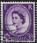 Stamps of the world : United Kingdom :  Isabel II . Postage Revenue,  E  R